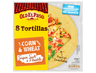 Eight Tortilla Corn And Wheat Super Soft