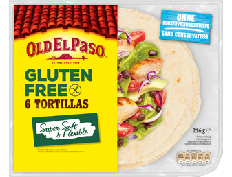 Gluten Free Six Tortillas Super Soft