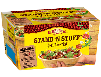 Stand and Stuff Soft Taco Kit Original Mild