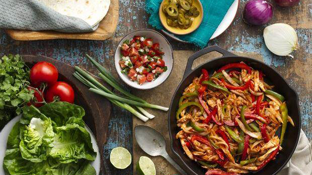 bbq-fajita-kebabs-with-grilled-vegetables