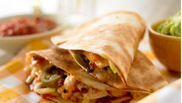 chicken-and-cheese-quesadillas-with-tomato-salsa